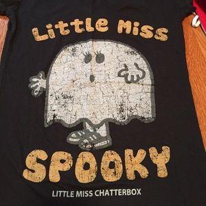 Little Miss Tops - Little Miss Spooky Tee Shirt