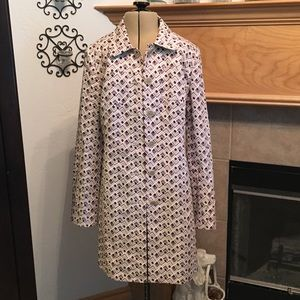 LOFT TRENCH COAT-SIZE SMALL-AWESOME COAT