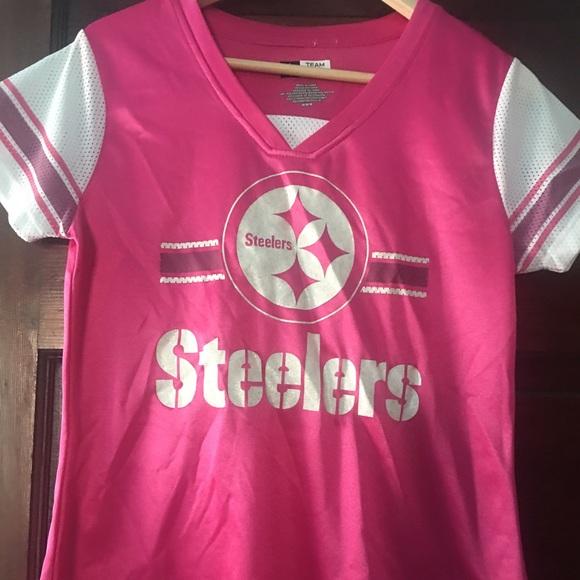 009ec8ef6 Pink steelers jersey. M 579fcbc72599feb13e0044d6