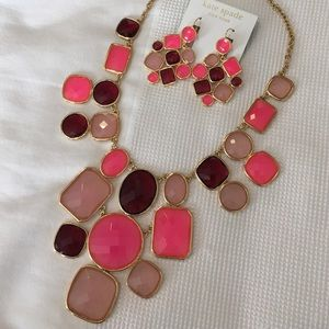 Kate Spade Necklace & Earrings