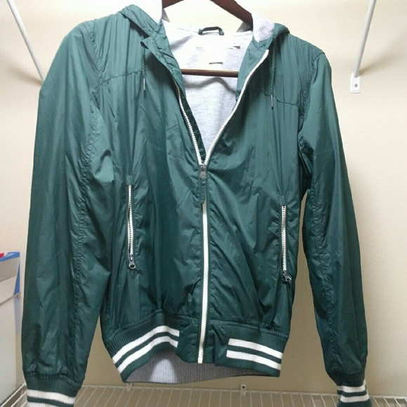 57% off H&M Other - H&M - Nylon Jacket - Green from P's closet on ...