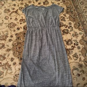 Gray Liz Lange maternity dress