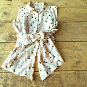 Rachel Roy sleeveless blouse