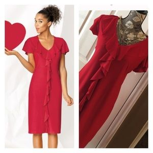 38 Off Avon Dresses Amp Skirts ⭕️sold⭕️red Dress With