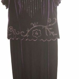 Dresses & Skirts - Plus size two pieces dress very elegant