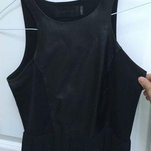 Blaque label black gown