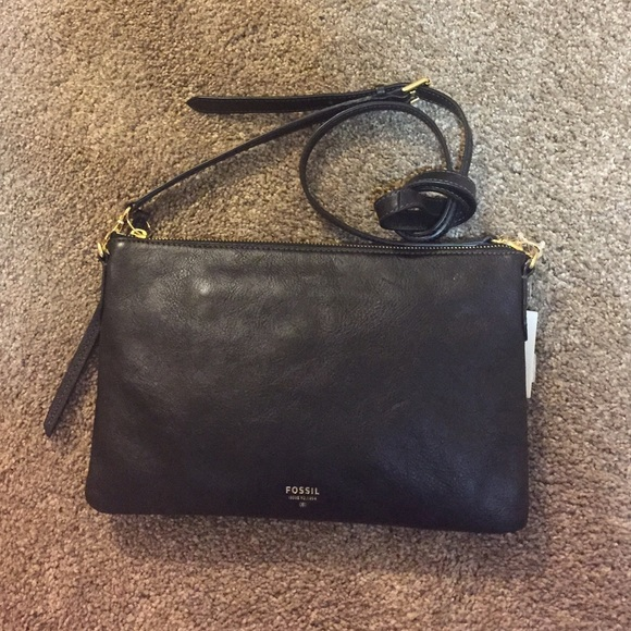 Fossil Sydney Top Zip Crossbody 4961214f012f4
