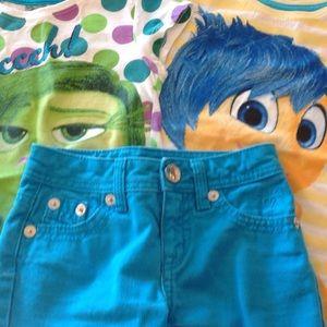 Justice Other - Justice Sz 8S Shorts & 2 Disney/Pixar Shirts 👀