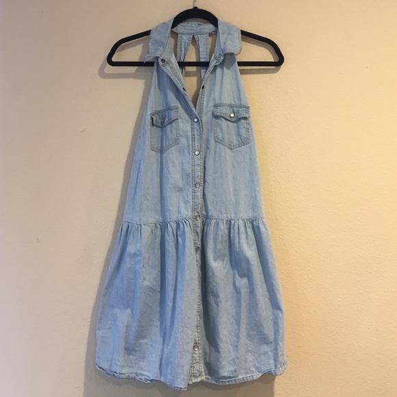 b501fd41 Forever 21 Dresses | Button Down Denim Dress | Poshmark
