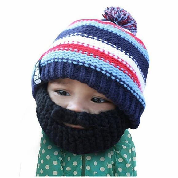 74c2c2ec2d6de beard head Accessories - Baby Beard Beanie Set