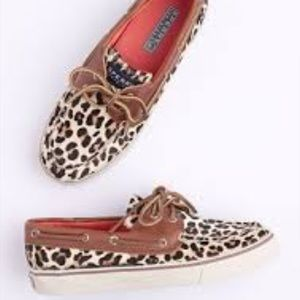 Sperry Top-Sider Shoes - 💫Leopard Sperry's top-sider