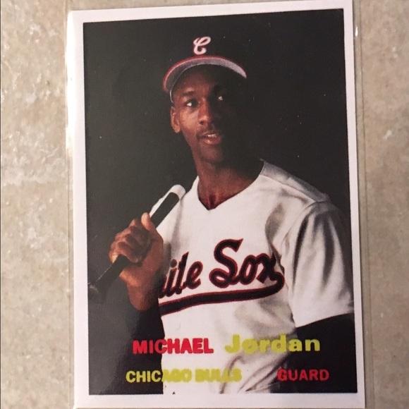 Michael Jordan Chicago White Sox Card
