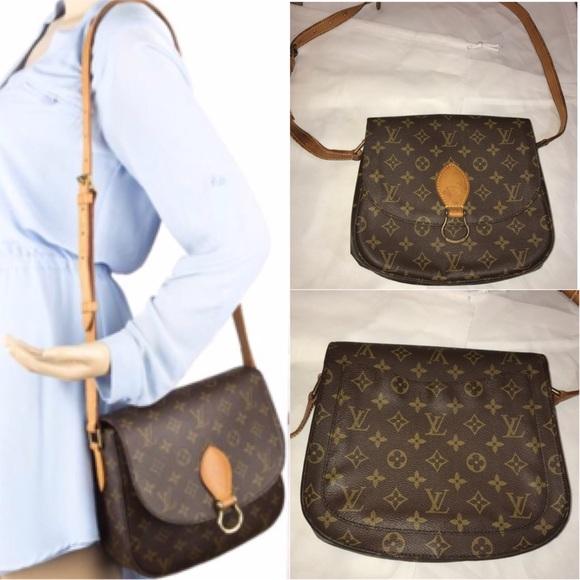 Louis Vuitton Bags Authentic St Cloud Gm Bag Poshmark