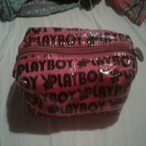 Playboy bunny makeup bag