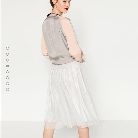 8ad7530848 Zara Skirts | Salenew Season Tulle Skirt | Poshmark
