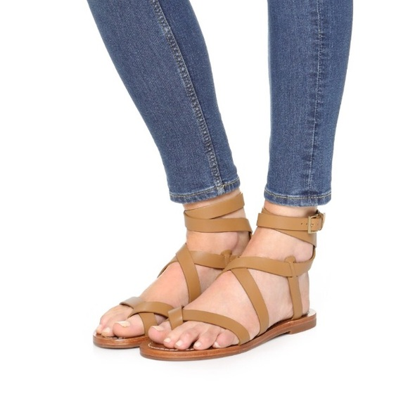 22c66b44298 Tory Burch patos gladiator sandals.