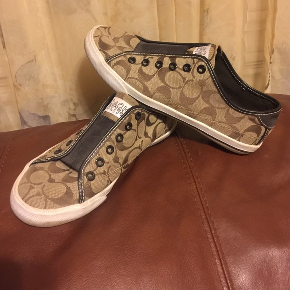 80 coach shoes coach slip ons from s
