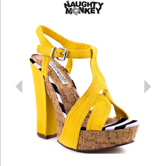 Naughty monkey scarpe   Marionette  giallo  Marionette  Poshmark c06fab