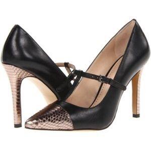 """Pour la Victoire Shoes - Pour la Victoire """"Carma"""" Heel."""