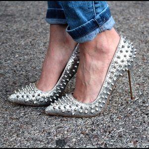 Gorgeous ShoeMint glitter spike heels