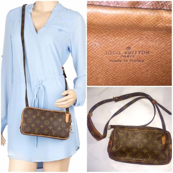 1be160c081c9 Louis Vuitton Handbags - Authentic Louis Vuitton Pochette Marly Bandoulière