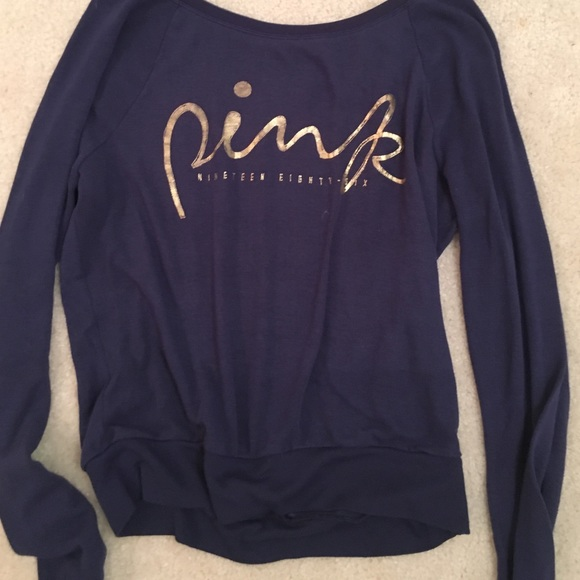 78% off PINK Victoria's Secret Tops - PINK brand shirt from ...