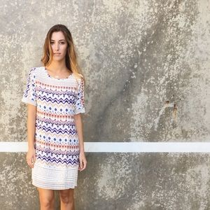 | new | tribal pattern dress