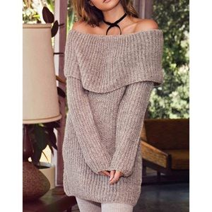 Bare Anthology Sweaters - 1DAYSALE Off Shoulder Sweater Top