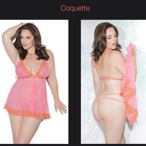 Coquette Plus Size 1 New Lingerie 432293069
