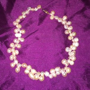 Beaded (pearl) necklace
