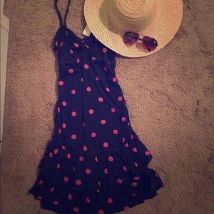 Gilly Hicks casual polka dot summer dress