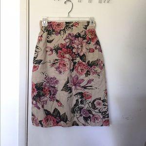 Carole Little Dresses & Skirts - New floral midi skirt