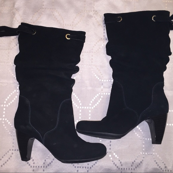 6d6a24fb828 NIB - Connie black suede mid-calf boots Size 8.5