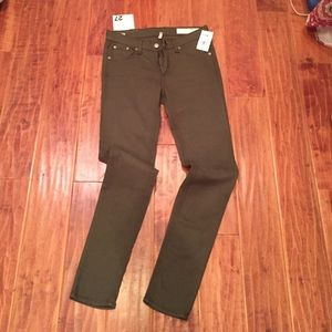 Rag and Bone skinny 27""