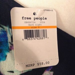 Intimately Free People Tops - NWT Intimately Free People Cross Back Tank