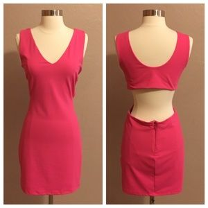 bebe Cut Out Dress, Brand New