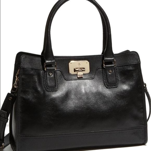 Cole Haan Handbags - Cole Haan Black Leather Crossbody Bag Purse Valise 869f55dd5c71d