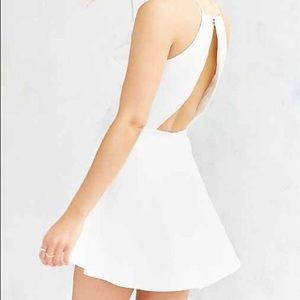 cameo nightswim ivory dress from urban outfitters