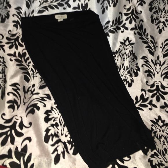 Black forever 21 pencil skirt