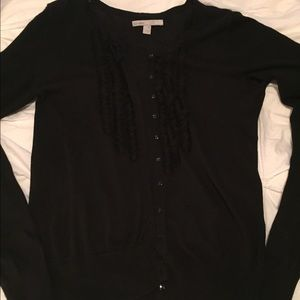 Old Navy black cardigan, size M