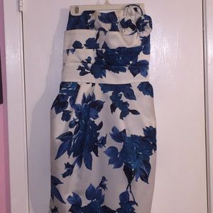 Teeze Me Dresses & Skirts - 🦋Beautiful Blue Roses🦋 Strapless🦋 Pockets 🦋✨🦋
