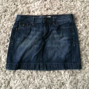 Old Navy jean skirt. Size 8.