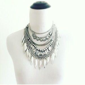 Jewelry - Brand new silver bohemian necklace