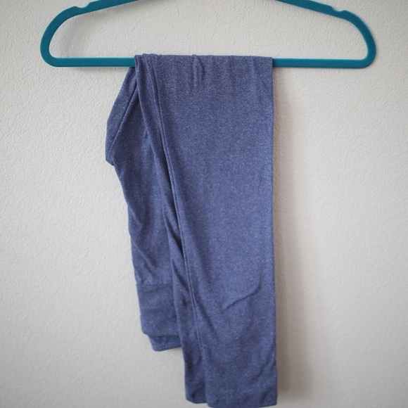 LuLaRoe - Lularoe Heathered Blue One-Size Leggings from Katieu0026#39;s closet on Poshmark
