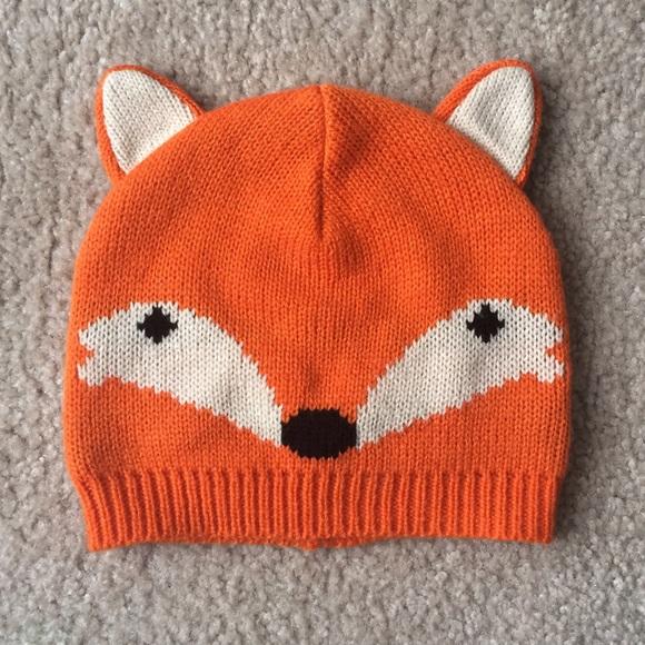 GAP Other - BabyGAP Knit Fox Hat a47bb6923b8