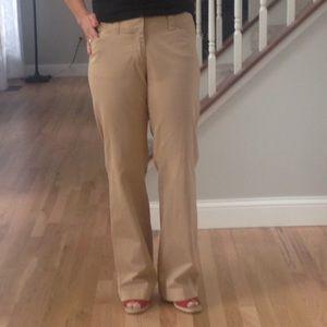 Gap hip slung flare pants