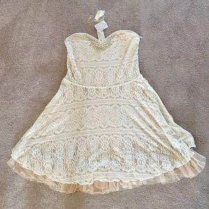 Free People ivory dress