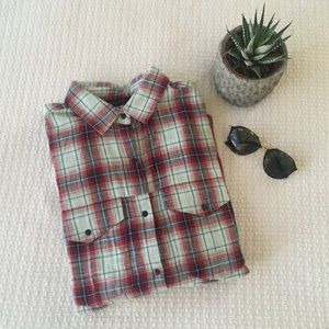 Zara Tops - Zara Plaid Top