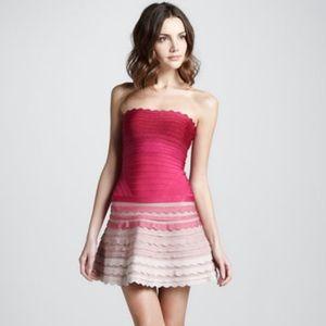 Herve Leger Dresses & Skirts - ✨ AUTHENTIC Herve Leger Scalloped Bandage Dress