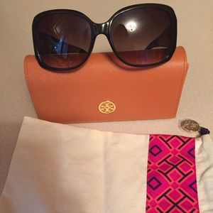 Tory Burch 58MM oversized square sunglasses